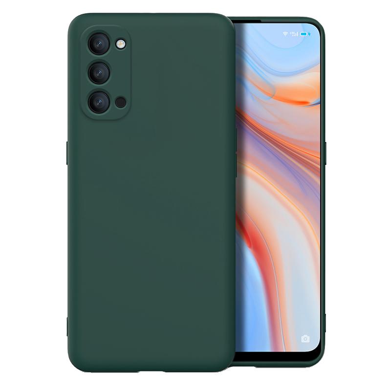 reno4手机壳磨砂oppo保护套新