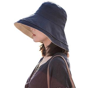 恒源祥女夏秋季防紫外線潮遮陽帽子