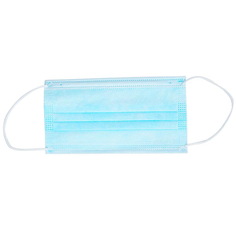 口罩一次性三层含熔喷成人夏天薄款透气防晒尘护儿童口鼻罩50只装