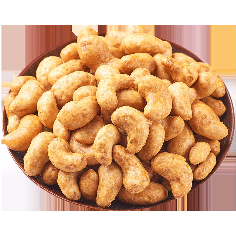炭烧腰果仁108g袋装熟越南腰果原味散装称斤坚果孕妇零食干果特产