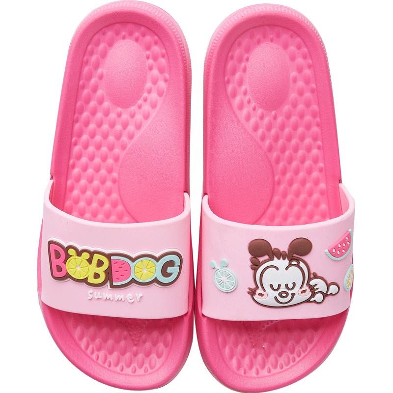 巴布豆宝宝夏防滑中大童室内凉拖鞋评价好不好