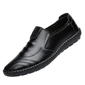 卡帝乐鳄鱼秋季新款驾车鞋休闲鞋子