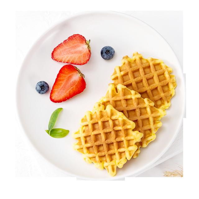 王冬有黄油软华夫饼早餐面包食品蛋糕网红营养休闲零食整箱糕点