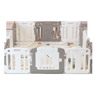 帕克倫寶寶防護圍欄兒童安全遊戲圍欄室內爬行墊家用嬰兒遊戲圍欄