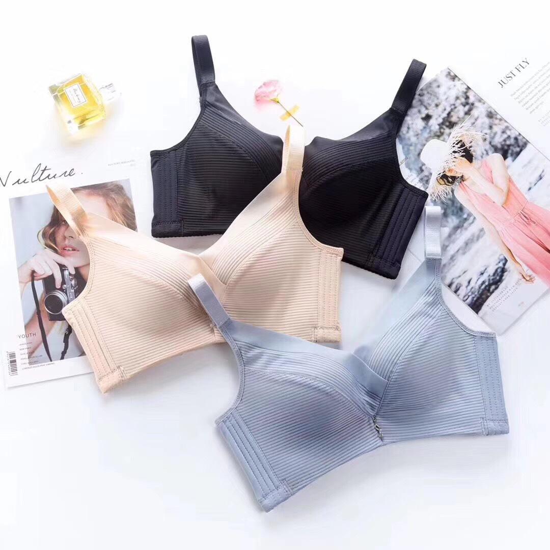 新性感内衣女聚拢收副乳防下垂上托调整型厚薄小胸罩无钢圈文胸