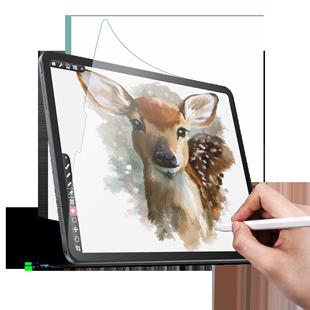 綠聯類紙膜適用於ipad2020蘋果10.2寸2019/2018平板8電腦air3/4貼膜Pro11書寫12.9畫畫mini5磨砂9.7紙質10.5