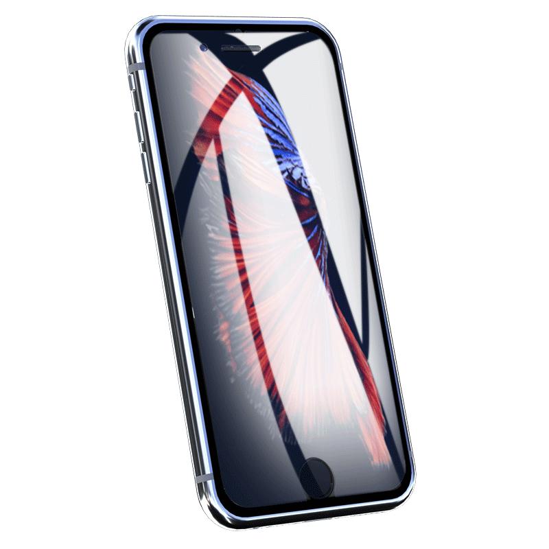 防偷窥iPhone玻璃苹果X钢化膜xs全屏xr防爆XsMax防指纹iphone6全覆盖6s78Plus手机贴膜