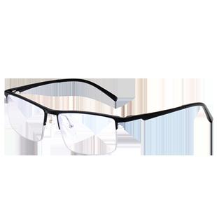 防輻射男抗藍光配看手機電腦眼鏡