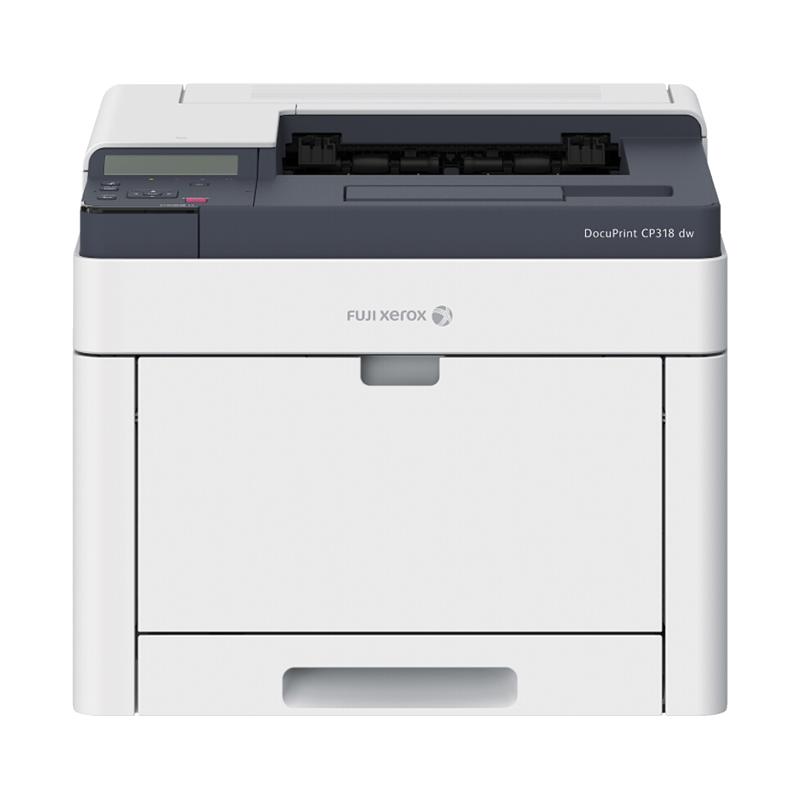 富士施乐CP318dw彩色激光打印机A4 彩色无线WiFi打印机自动双面打印网络打印办公商用