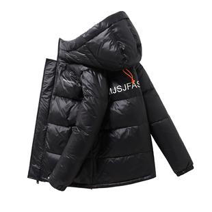 吉普盾2019冬季新款男士短款羽绒服