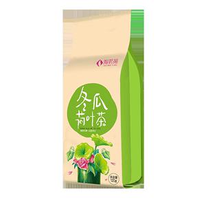 淘茗苑冬瓜荷叶茶玫瑰花干组合茶叶