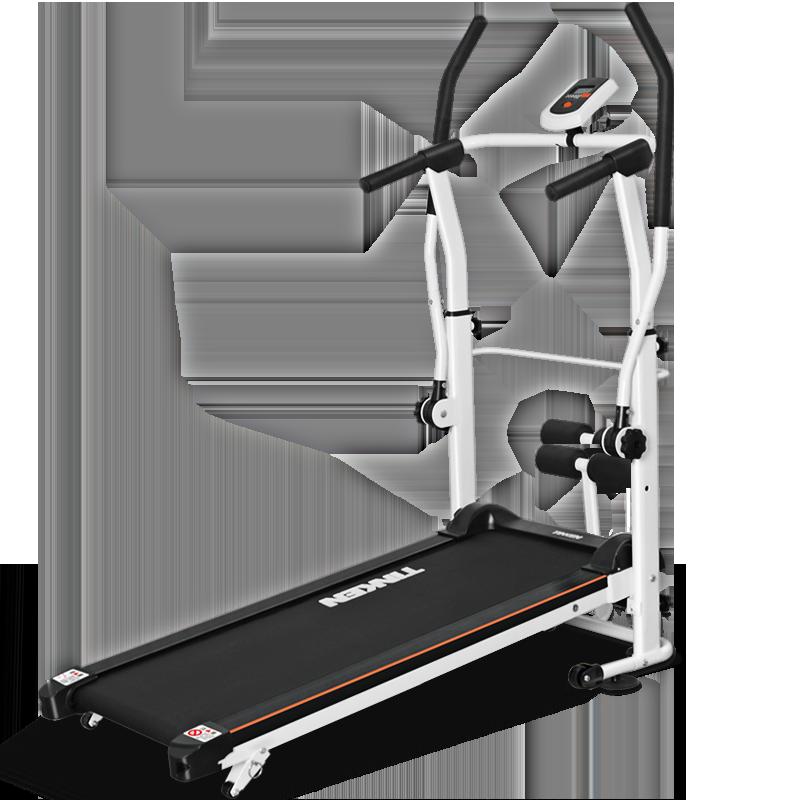 机械跑步机多功能走路走步机折叠静音家用款小型简易减肥健身器材