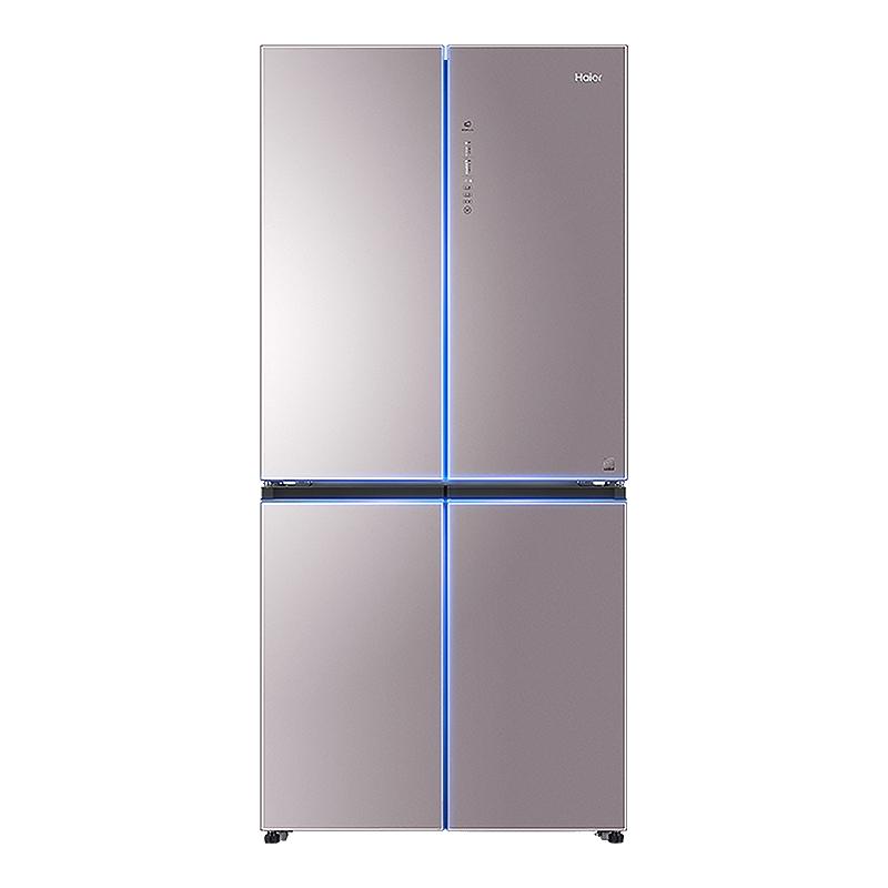 海尔 BCD-471WDCD 471升风冷无霜变频冰箱十字对开门彩晶面板纤薄