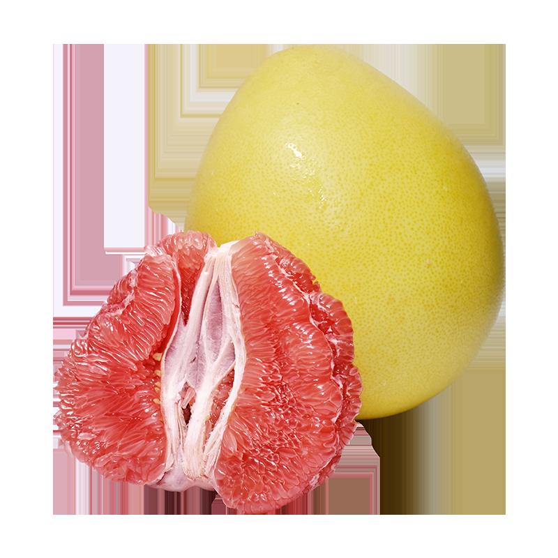 福建平和蜜柚红心柚子新鲜水果4.5斤当季整箱红肉蜜柚红柚包邮