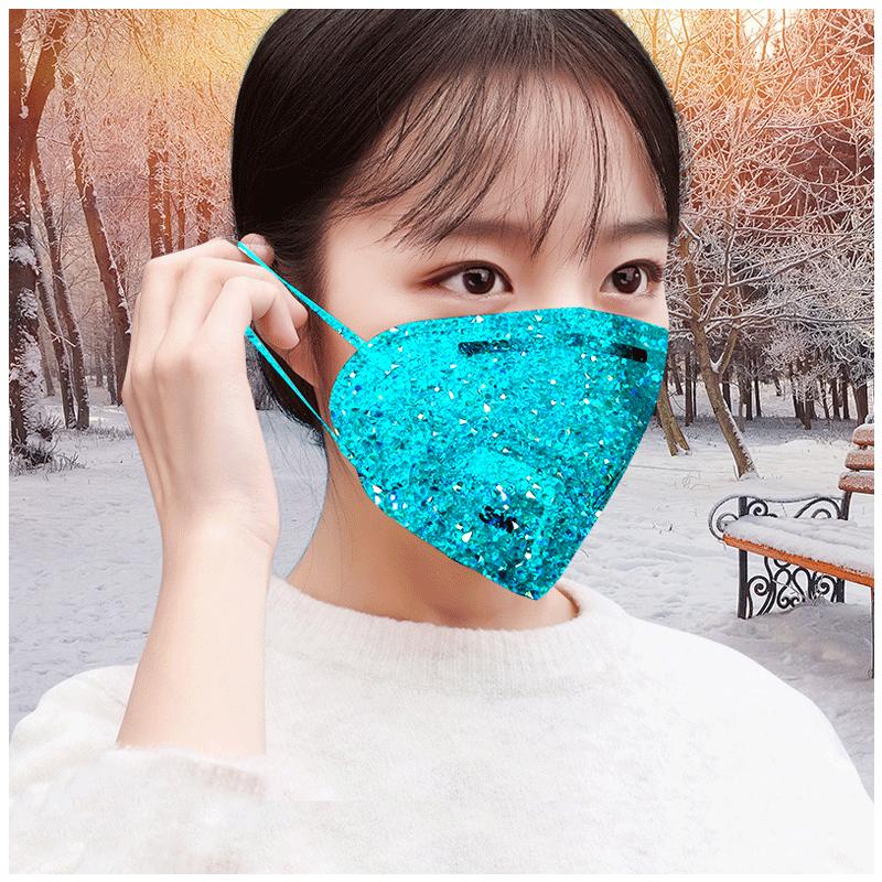 3M口罩女冬防尘防雾霾PM2.5舒适透气成人防工业粉尘口罩25只
