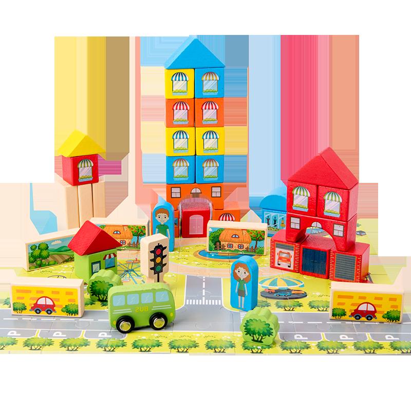 拼图开发智力儿童积木玩具