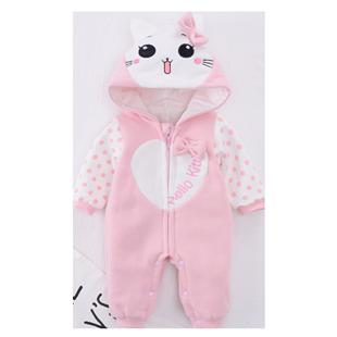 女寶寶連體衣服秋冬套裝新生嬰兒春秋裝外套可愛滿月外出哈衣公主