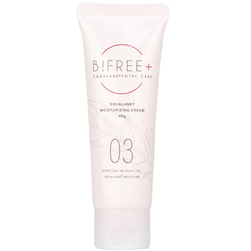 日本进口B!FREE+碧妃俪03角鲨烷高效保湿面霜 敏感肌专用锁水修复