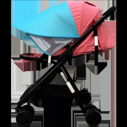 通用型遮阳棚蓬加长遮光宝宝婴儿车