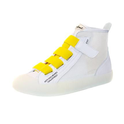 一2019夏季新款网面透气三色小白鞋