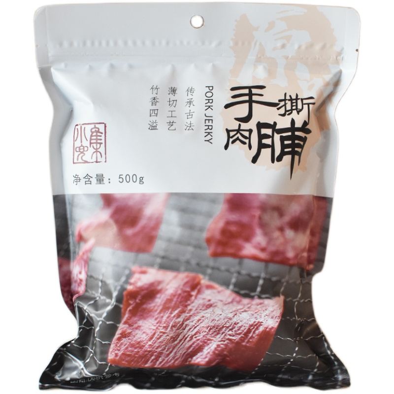 500g靖江手撕肉脯1斤独立大礼包