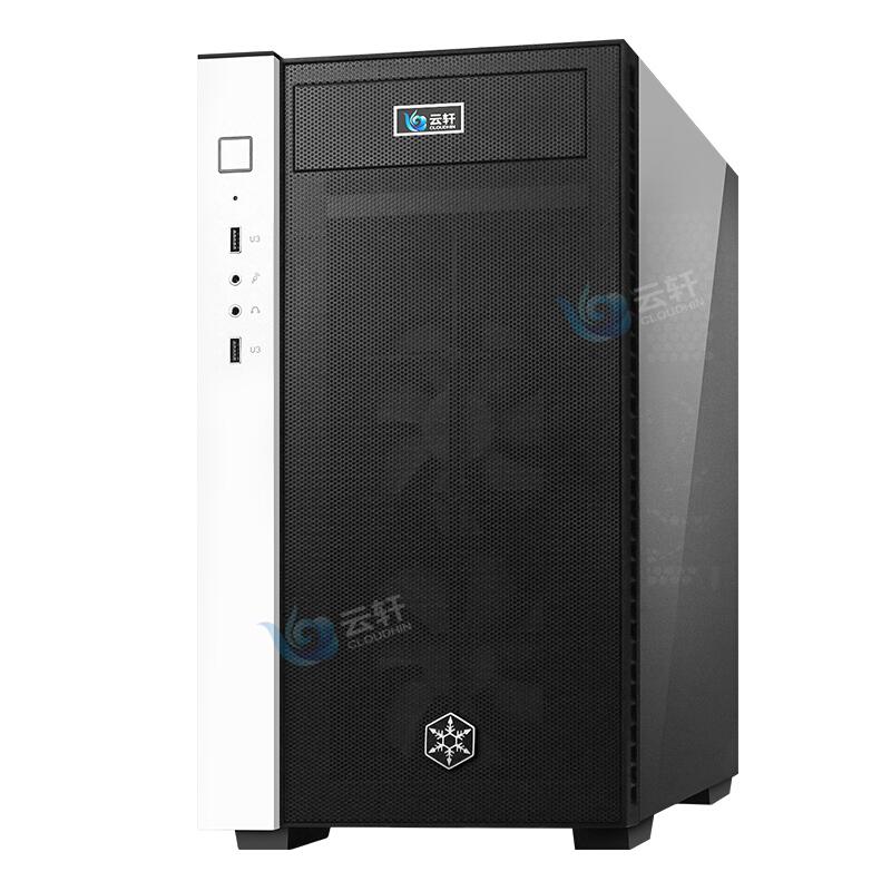 云轩 i9-9900K/8核心/双路GPU服务器/RTX2080Ti/TITAN RTX深度学习训练电脑主机/AI人工智能GPU工作站服务器