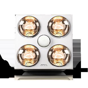 奧普四燈暖浴霸集成吊頂衞生間燈具浴霸取暖燈廁所排風三合一M201