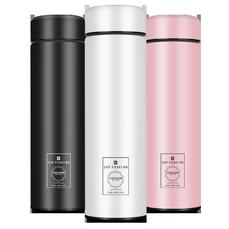 智能保温杯男女学生便携水杯子创意个性潮流大容量简约测温茶杯子