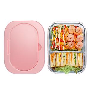 物生物玻璃飯盒便當盒微波爐加熱餐盒上班族帶飯保温保鮮盒專用碗
