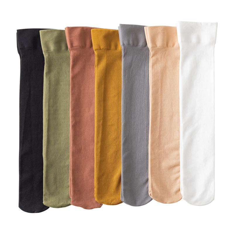 中筒日系黑长筒丝袜多色可选【1双】
