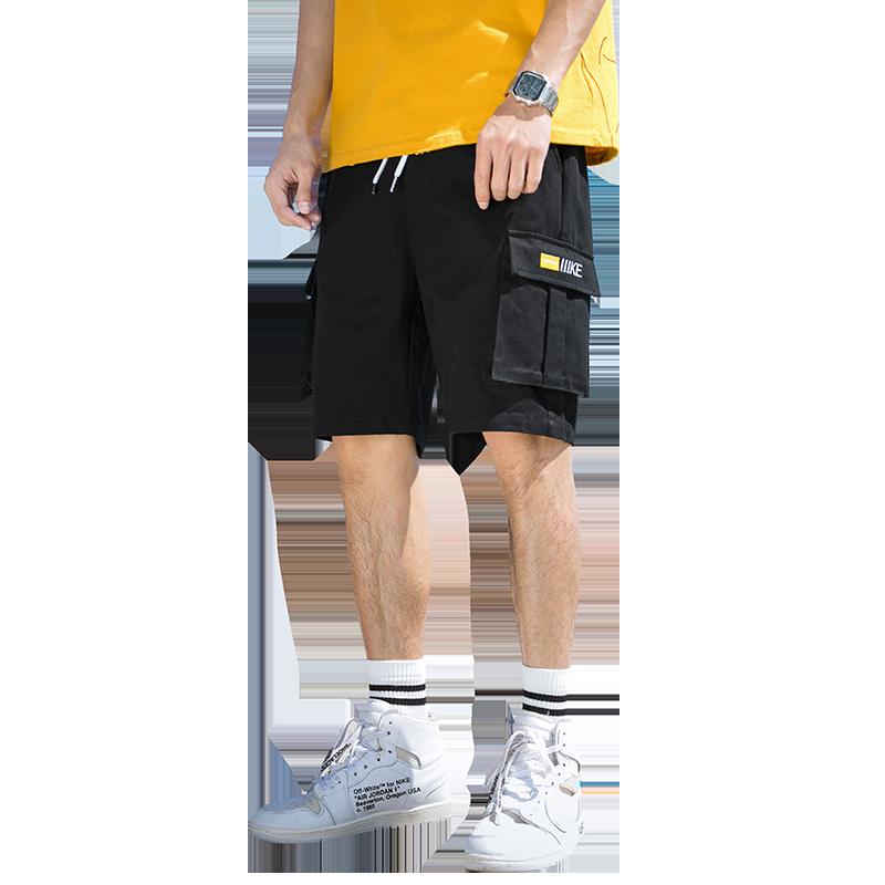 夏天潮流5五分裤男装工装短裤