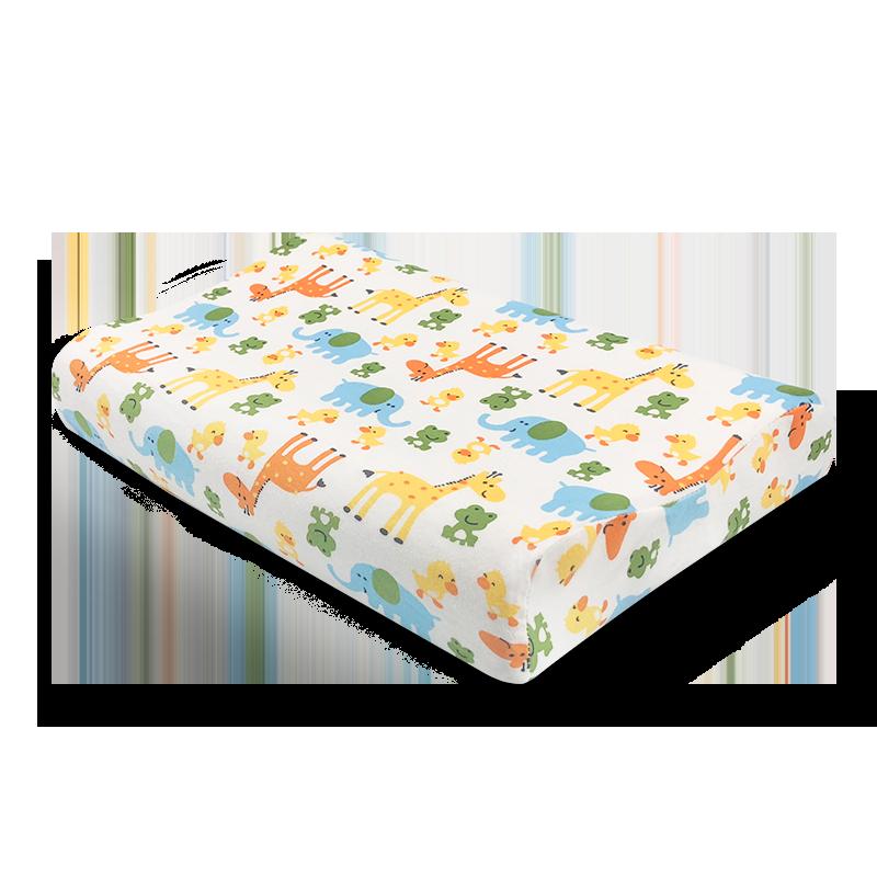 天然乳胶儿童枕头泰国原装进口婴儿宝宝枕小孩学生青少年枕头枕芯