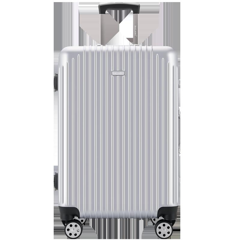 巴朗网红行李箱女ins潮男万向轮旅行密码箱小型登机箱铝框拉杆箱