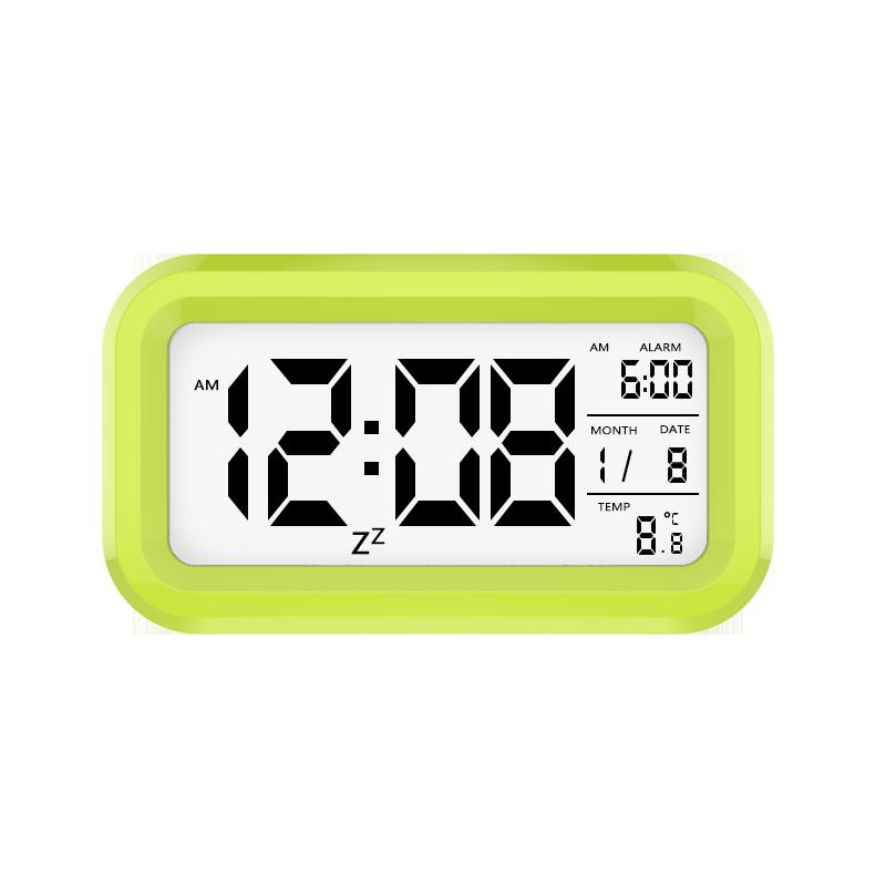 【温度显示】多功能智能夜光电子闹钟