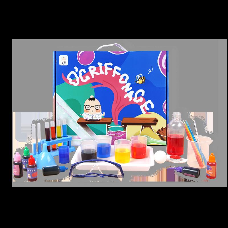 儿童科学小实验套装stem玩具小学生幼儿园手工科技制作发明器材料