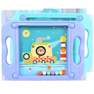 平衡滾珠掌上游戲兒童注意力專注力訓練3d立體益智迷宮球玩具走珠