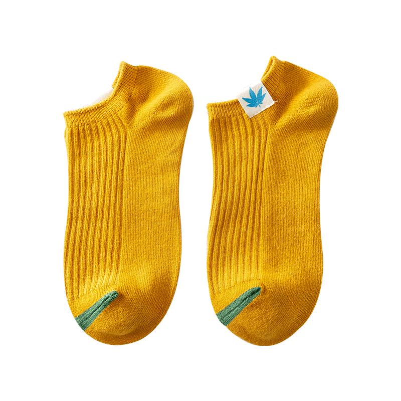 袜子男士短袜春夏季薄款防臭夏天透气ins潮男生短筒低帮棉袜船袜