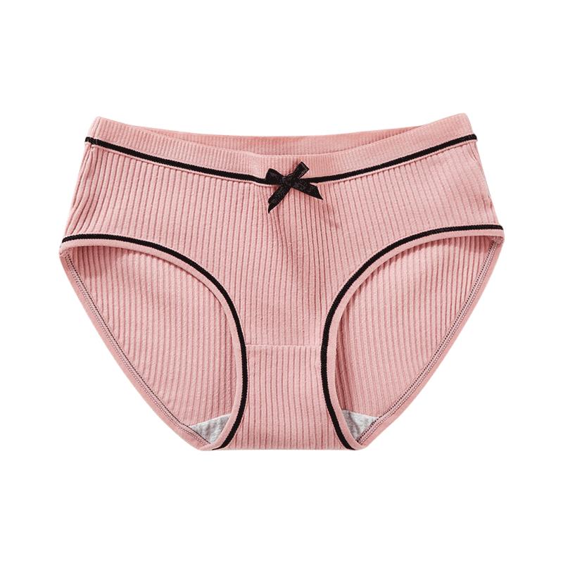 【冲量价】女士纯棉内裤4条装