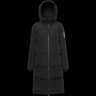 波司登女羽絨服連帽中長款19新款時尚加厚保暖冬季外套B90142316