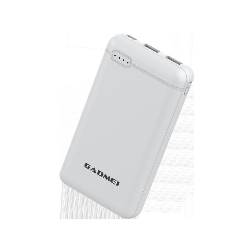 佳的美20000毫安充电宝自带线超薄小巧便携大容量礼品定制logo