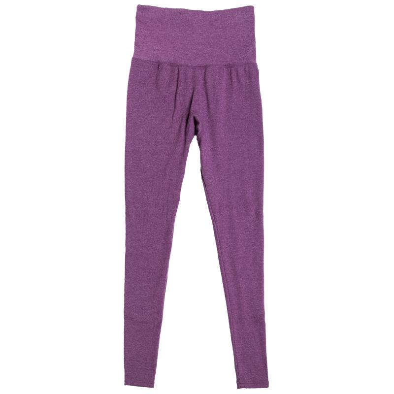 2021年新款女秋裤内穿衬线裤女士纯棉单件加厚加绒薄款高腰保暖裤