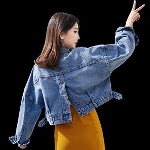 2019春秋新款韩版短款原宿bf风上衣