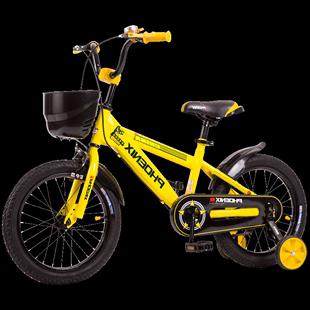鳳凰兒童自行車小孩腳踏單車男孩寶寶2-3-4-6-7-8-9-10歲女孩童車