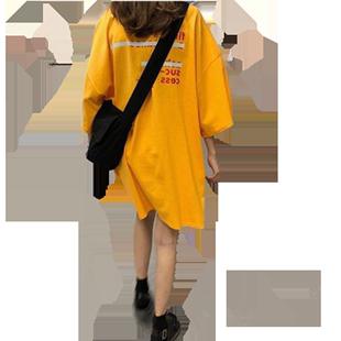 搭配牛仔闊腳褲老爹褲工裝褲配什麼上衣服卡腰小衫短款洋氣T恤女