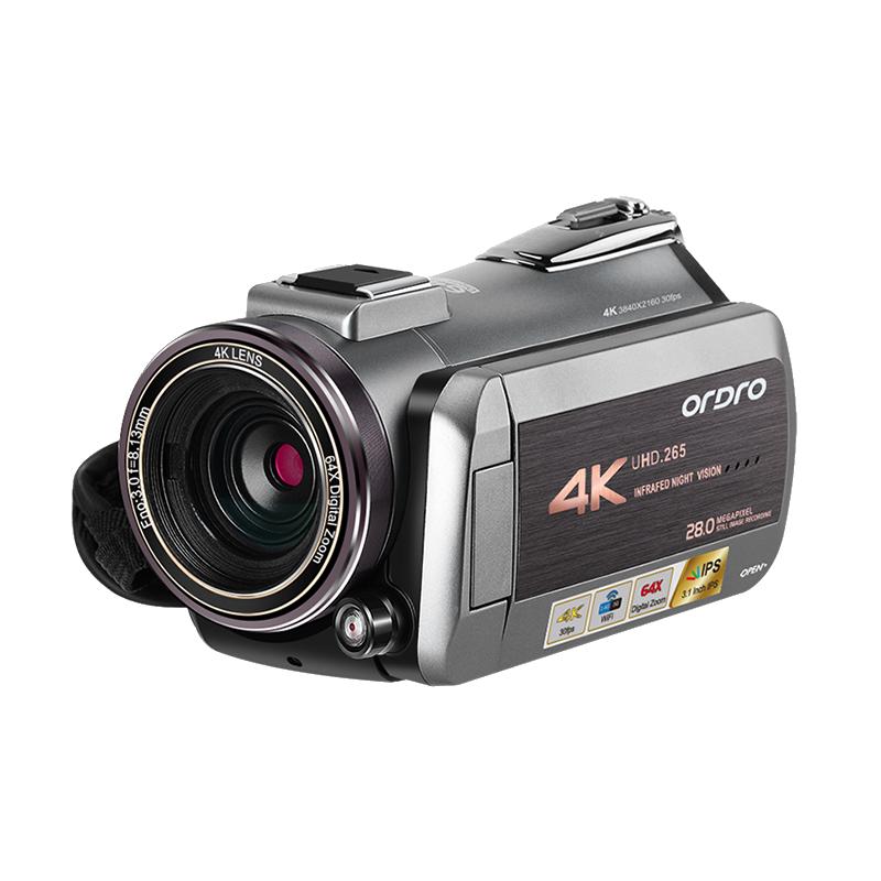 欧达AZ50网络直播摄像机4K高清专业视频拍摄DV虎牙淘宝直播摄像头