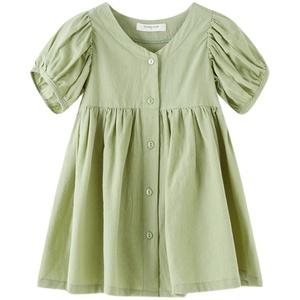 2021夏季新款女童潮流韩版连衣裙子