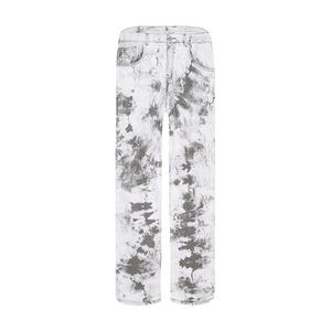 领【5元券】购买sanjati crane高街渲染扎染牛仔裤