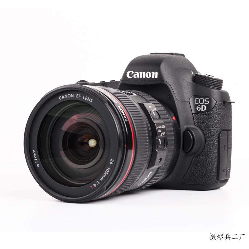 Canon/佳能EOS 6D单反 全画幅高清数码旅游 适合新手入门学习相机