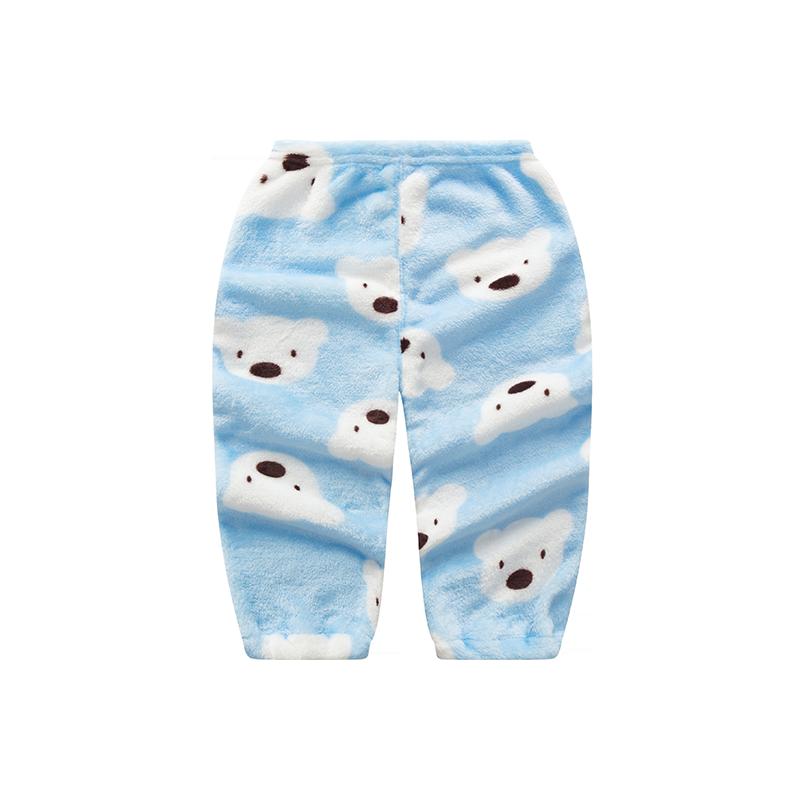 宝宝棉裤婴儿打底裤男童女童罩裤小儿童pp裤子加绒暖暖裤秋冬外穿