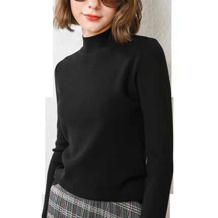 2019新款韩版套头网红修身针织衫